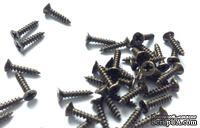 Шуруп для крепления фурнитуры, старая латунь, 3х10 мм, 1 шт - ScrapUA.com