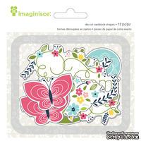 Высечки картонные от Imaginisce — Welcome Spring Blossom