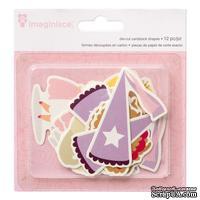 Высечки картонные от Imaginisce - Princess