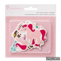 Высечки картонные от Imaginisce - Little Princess