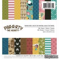 Набора скрапбумаги от Imaginisce - Par-r-rty Me Hearty (Пираты), 15х15 см,  36 шт