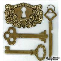 Декоративные металлические ключи от EK Success
