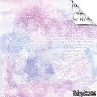 Лист бумаги для скрапбукинга от Lemon Owl - Plans for Today, Night Sky, 30x30