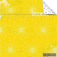 Лист бумаги для скрапбукинга от Lemon Owl - Plans for Today, Document Stories, 30x30
