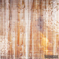 Лист бумаги для скрапбукинга от Lemon Owl - Plans for Today, Rise and Shine, 30x30 - ScrapUA.com