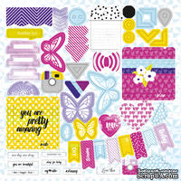 Лист высечек от Lemon Owl - Plans for Today, Die Cuts #01