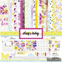 Набор бумаги и декора от Lemon Owl - Plans for Today, Kit
