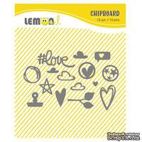 Набор чипборда от Lemon Owl - Plans for Today, Chipboard kit #02 - ScrapUA.com