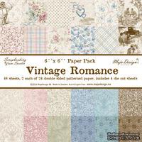 Набор бумаги от Maja design - Vintage Romance - Paper stack 6x615х15 см, 48 листов + 4 листов высечек