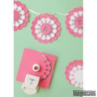 Стартовый набор от Martha Stewart для создания салфеток (ажурных дырокольных кругов) - Circle Edge Punch Starter Kit