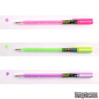 Набор цветных гелевых ручек Amazing color, ТМ Santi, 3 штуки