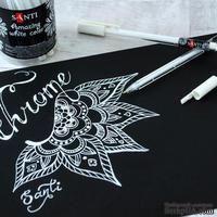 Белая гелевая ручка Amazing color, ТМ Santi, 1 штука.