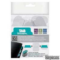 Прозрачные разделители от We R Memory Keepers - Stickers - Tab - File, 12 шт.