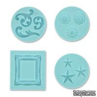 Форма силиконовая для полимерной глины от Martha Stewart  - Декоративная