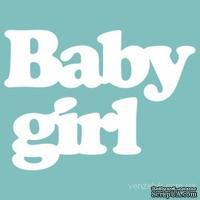 Чипборд от Вензелик - Baby girl, размер: 19*88 мм