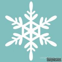 Чипборд от Вензелик - Снежинка 21, размер: 47x41 мм