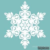 Чипборд от Вензелик - Снежинка 27, размер: 41x36 мм