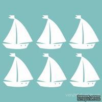 Чипборд от Вензелик - Кораблики, 6 шт., 4,5х5см