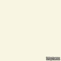 Лист картона Light Ivory, цвет светлая слоновая кость, плотность 300 г/м, 30,5х30,5 см, 1 шт.