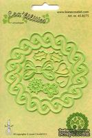 Лезвия от LeCreaDesign - Wreath 4 seasons cut and embossing die, 8 эл.
