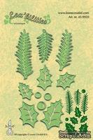 Лезвия от LeCreaDesign -  Holly leave, pine branches cut and embossing die