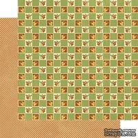 Лист скрапбумаги Graphic 45 - Simple as Pie, двусторонняя, 30х30 см