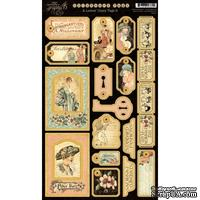 Высечки из чипборда Graphic 45 - A Ladies' Diary Chipboard Die-cuts 2, 18х30 см