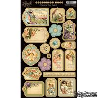 Высечки из чипборда Graphic 45 - Place in Time - Chipboard 1