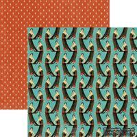 Лист скрапбумаги Graphic 45 Lovely, 30х30 см, двусторонняя