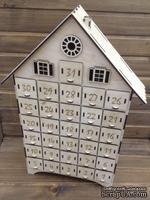 """Заготовка для адвент-календаря от Вензелик - """"Домик"""", 55х30х7 см"""