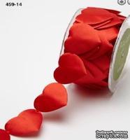 Лента Cut Out Ribbon, ширина 3,8 см, 90 см, цвет красный