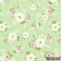 Ткань Tilda - Pernille Mist Green 100 % хлопок, 50х55 см
