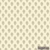 Ткань Tilda - Buke Ornament Grey 100 % хлопок, 50х55 см