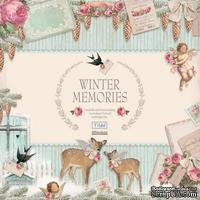 Набор бумаги Tilda - Winter memories, 8 листов, размер 30х30 см