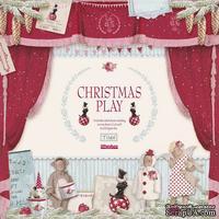 Набор бумаги Tilda - Christmas play, 8 листов, размер 30х30 см