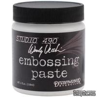 Паста для эмбоссинга  Studio 490 Embossing Paste - White