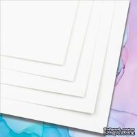 Синтетическая бумага YUPO для алкогольных чернил, 46х32 cм, 115 г/м2, белая, 1 лист