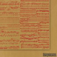 Двусторонний лист бумаги от Galeria Papieru - Przesyłka Ekspresowa 04, 30,5x30,5см