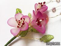 Веточка с цветами яблуни, 15 см