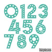 Ножи для вырубки - Цыфры от First Edition - Decorative Numbers Dies, 10 шт.