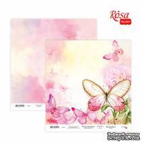 Бумага для скрапбукинга от ROSA TALENT - Floral Poem 13, двусторонняя, 30х30см, 200г/м2