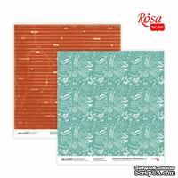 Бумага для скрапбукинга от ROSA TALENT - Recipe book 2, двусторонняя, 30,48х30,48см, 200г/м2