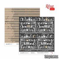 Бумага для скрапбукинга от ROSA TALENT - Recipe book 3, двусторонняя, 30,48х30,48см, 200г/м2