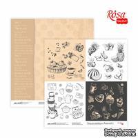 Бумага для скрапбукинга от ROSA TALENT - Recipe book 6, двусторонняя, 30,48х30,48см, 200г/м2