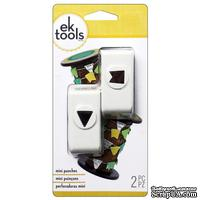 Набор фигурных дыроколов EK Tools - Mini Pennant Set, 2 штуки