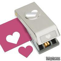 Фигурный дырокол EK Tools - Heart Medium Punch