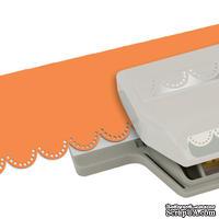 Бордюрный дырокол EK Tools - Double Embossed Dotted Lace Edger Punch