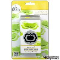 Фигурный дырокол EK Tools Paper Shapers Layering Flourish Square