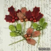 Набор веточек омелы Prima - Antique Mistletoe - traditional