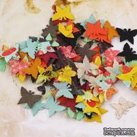 ЦЕНА СНИЖЕНА! Набор бабочек Prima - Flutter Bits Doodle Deux